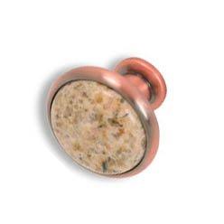 Cabinet konbs-brushed Antique copper- Beige