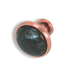 Cabinet konbs-brushed Antique copper- Emerald Pearl
