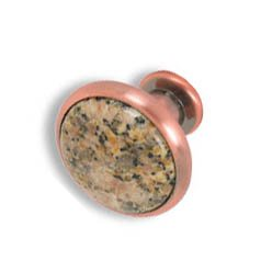 Cabinet konbs-brushed Antique copper- Gold Carioca