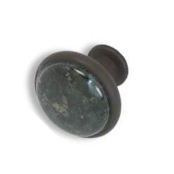 Cabinet knobs-Rustic Bronze- Emerald Pearl