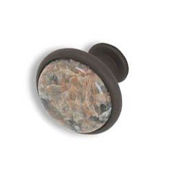 Cabinet knobs-Rustic Bronze- Polychrome