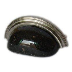 Granite cup pull-Black Galaxy