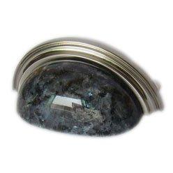Granite cup pull-Blue Pearl