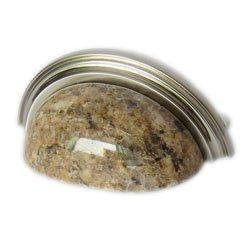 Granite cup pull-Giallo Veneziano