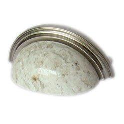 Granite cup pull-Kashmire White