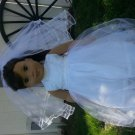 American Girl Doll Communion /flower Girl Dress Made to Order Wedding,Present Matching dolly and me