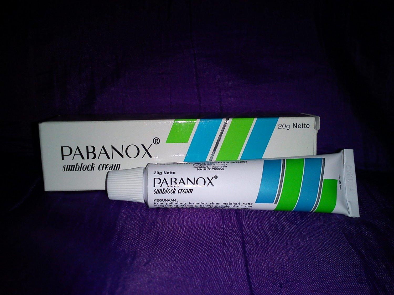 Pabanox Sunblock Cream Repellent Sun Light 20 g Netto