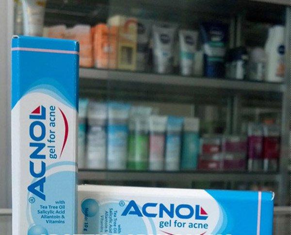 Acnol Gel For Acne Treatment Treating Acne