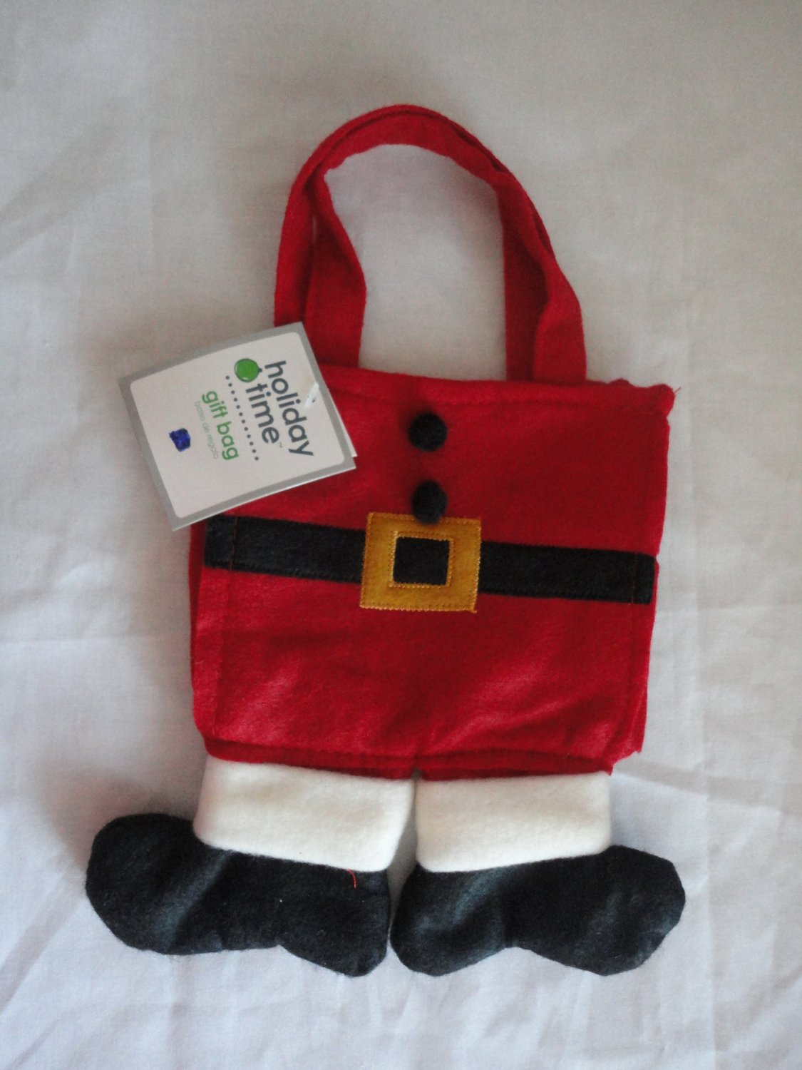 how to make santa pants bags