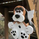 "Handmade Custom Wooden ""Bird Dog"" Functional Birdhouse"