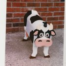 Handmade custom painted, functional,cow mailbox