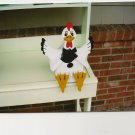 Handmade Custom Wooden Functional Hen Birdhouse
