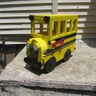 Handmade custom painted, functional,School Bus mailbox