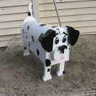 Handmade custom painted, functional,Dalmation mailbox
