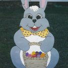 Handmade custom painted Easter bunny for your yard
