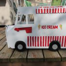 Handmade custom painted, functional,Ice Cream Truck mailbox