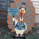 Handmade Custom painted Tom the Turkey for your yard