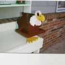 Handmade Custom Wooden Functional Buzzard Birdhouse