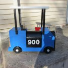 Handmade custom designed functional Custom Golf Cart Mailbox