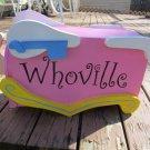 Handmade Custom Wooden Functional Dr Seuss Whoville Mailbox