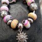 Sun Charm Bracelet