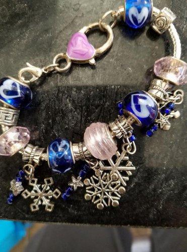Children's Snowflake Bracelet