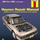 haynes  42011    honda  accord  1984-1989