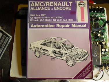 haynes   934   amc    renualt   1983-1987