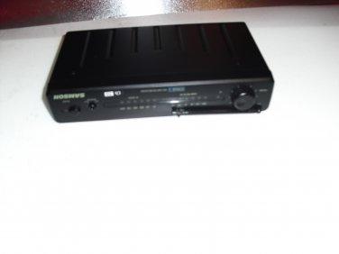 samson  sr5 vhf  fm  receiver