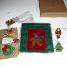 nostalgic  ornament pouch by  avon