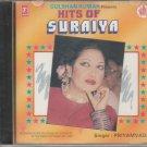 Hits Of Suraiya By Priyamvada  [CD] Bollywood rare Cd