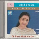 Asha Bhosle Gold Collection - Ek baar Muskura do [Cd]