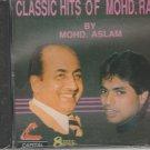 classic hits of mohd. rafi  by mohd aslam [Cd]