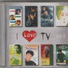 i love tv  .vol 2 mix  [Cd] USA