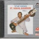 Classical Sitar - Pt Nikhil banerjee Vol 1 - Suddha Basant [Cd] Uk Made Cd