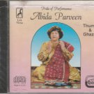 Pride Of Performance - abida Parveen [Cd] thumri & Ghazals - USA Made Cd