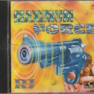Maximum Force - Dj RJ - Kawar habib , Shahin Badar [Cd] Uk made Cd