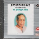 Begun Gun gave - Pt Bhimsen Joshi  [Cd ] Made In Uk Cd