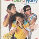 Tom dick and harry - dino Moreya , Jimmi Shregill   [Dvd ] 1st Edition Released