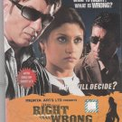 Right Yaa wrong - Sunny Deol ,Irfan Khan,Konkana Sen  [Dvd]1st Edition Released
