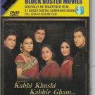Kabhi Khushi Kabhie gham - Shah Rukh Khan , Hrithik R  [Dvd]  - Sony Released