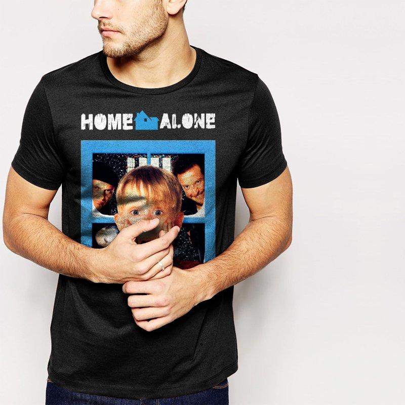 Home Alone 1990 Macaulay Culkin Men T-Shirt