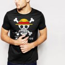 Ace Flag Luffy One Piece Men T-Shirt
