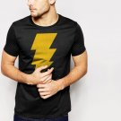 CAPTAIN SHAZAM Men T-Shirt Superhero Comics