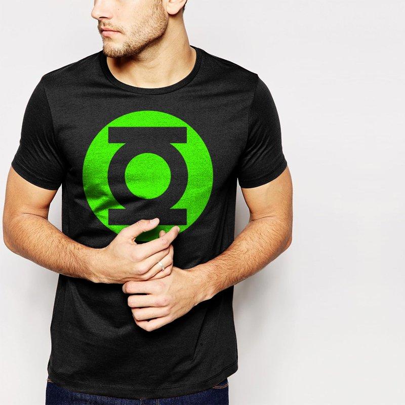 Green Lantern Men T-Shirt Big Bang Theory Sheldon TV