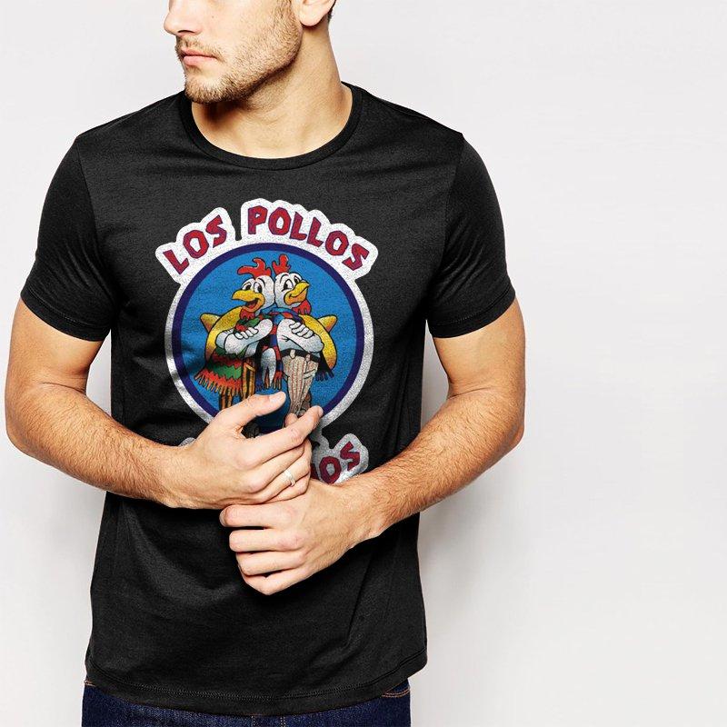 LOS POLLOS HERMANOS Men T-Shirt Breaking Bad chicken