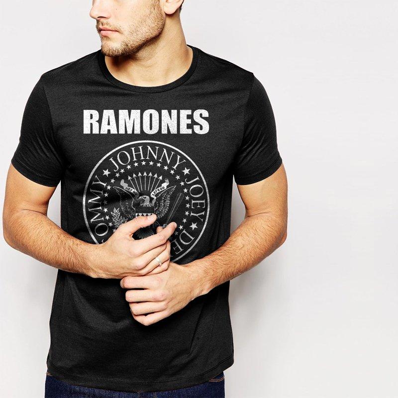 RAMONES PRESIDENTIAL SEAL MEN T-SHIRT