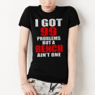 99 PROBLEMS BENCH WOMEN RACERBACK T-SHIRT CROSSFIT TRAIN YOGA GYM