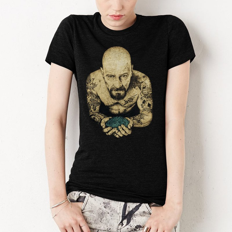 Breaking Bad Heisenberg Women T-Shirt Cool And Funny