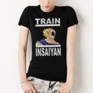 Dragonball Z Inspired Women T-Shirt Train Insaiyan Gym